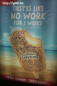 Australia advertisment of Gay Icecream